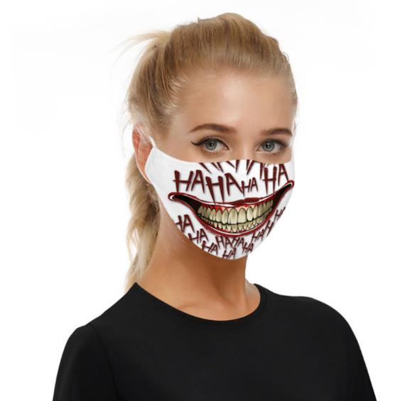 3d Seamless Neck Bandana Horror Demon Vampire Skull   Fabric Headwear Headscarf Bicycle Zombie Batman Bandanas