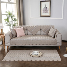 Sofa Cover Slipcovers Elastic All-inclusive Couch Case for Different Shape Sofa Loveseat Chair L-Style Sofa  Northern European