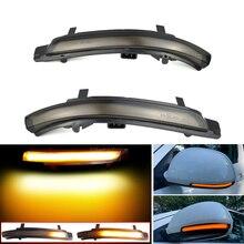 Rearview Mirror Repeater Dynamic Blinker For Skoda Octavia MK2 A5 SuperB B6 3T LED Turn Signal Light 2009 2010 2011 2012