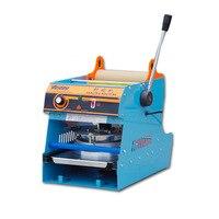 Manual Plastic Sealing Machine Fresh Box Sealer Square Fast Food Box Capping Machine Takeaway Lunch Box Sealing Machine WY 808