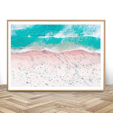 Пляжная Печать для серфинга художественная живопись холст Бохо