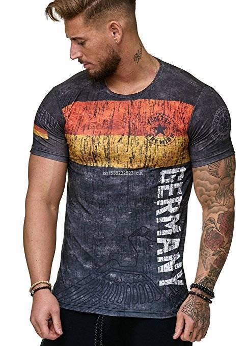 2021 Новый германский флаг, рубашки с коротким рукавом рубашки, футбол Джерси футболка, Одежда высшего качества дышащая спортивная одежда Iptv ...