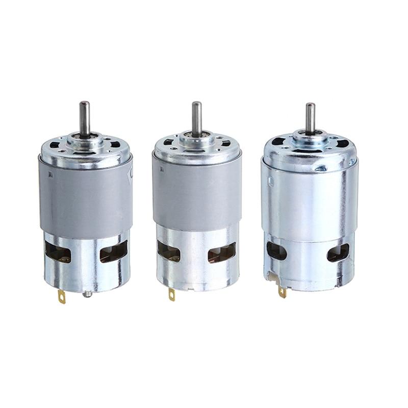 775/795/895 engranaje/Motor soporte del Motor DC 12 V-24 V 3000-12000RPM Motor de alto par Motor de engranaje