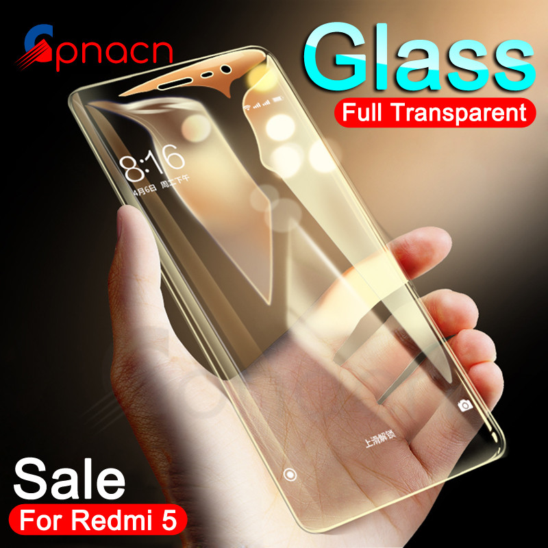 9H Tempered Glass On The For Xiaomi Redmi 5 Plus 5A 4 4X 4A S2 K20 Screen Protector For Redmi Note 4 4X 5 5A Pro Protective Film