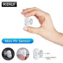 KERUI Drahtlose Mini Kleine Bewegliche Winkel Home Security Einbrecher PIR Infrarot Motion Detektor Für G18 WG11 WIFI GSM Alarm System