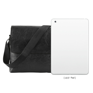 Image 4 - Fashion Mens Handbag Male PU Leather Messenger Bags for Man Casual Business Vintage Crossbody Bag
