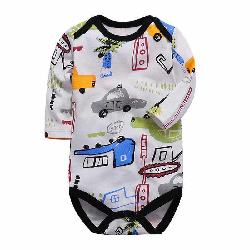 Sơ sinh Bodysuits Cotton Cho Bé Trai Jumpsuit Quần Áo Sơ Sinh Dài Tay Trẻ Sơ Sinh Mùa Đông Cho Bé Bộ Bodysuit Ropa Quần Áo Trẻ Em