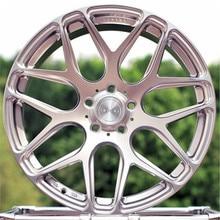 Car wheels aluminum rims modified wheels 18/19 inch fit for Audi car rims wheels modified wheels 4 inch 100mm aluminum mecanum wheels set basic 2 left 2 right for robot car 14162