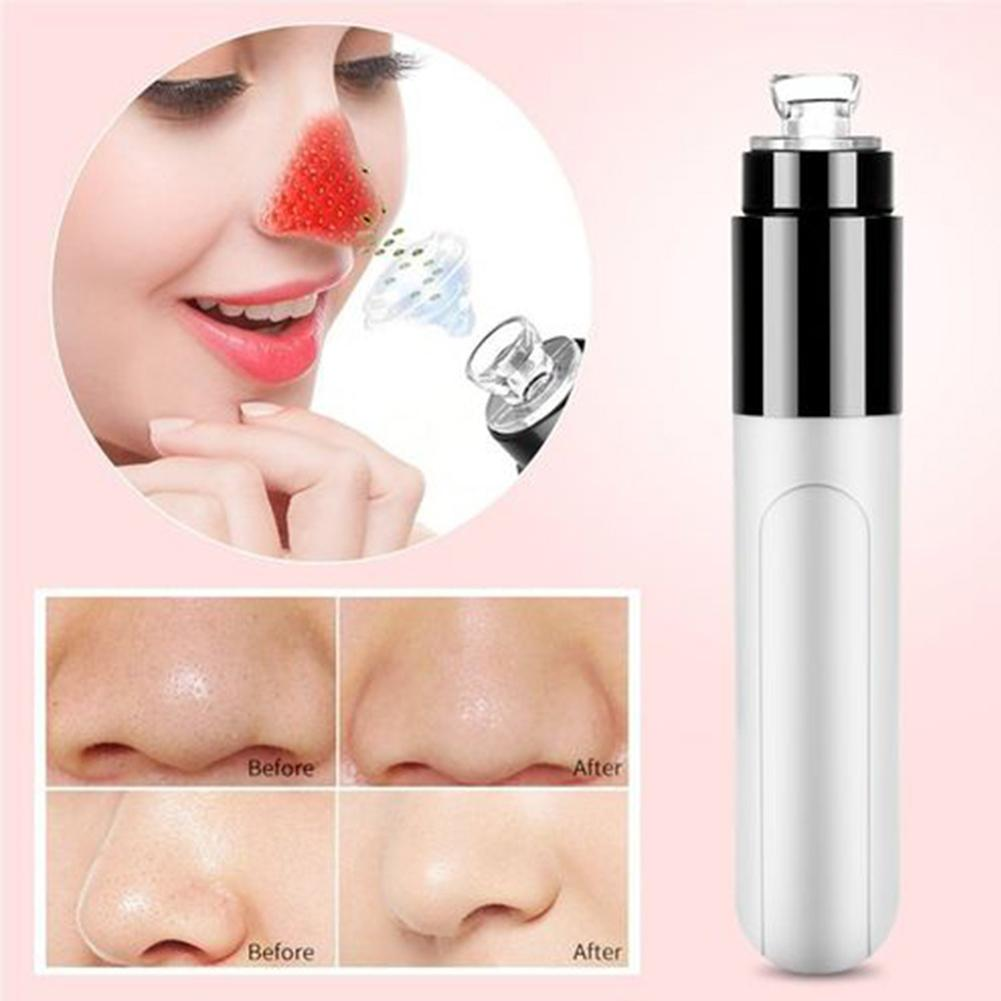 Mini Electric Facial Pore Dirt Blackhead Cleaning Skin Cleaner Face Suck Up Tool
