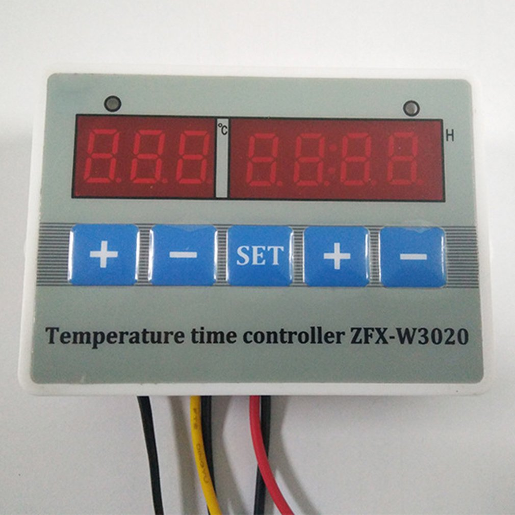 ZFX-W3020 LCD Digital Display Digital Intelligent Temperature Time Controller Thermostat Timer Switch Module