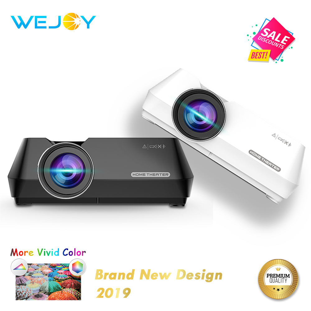 Wejoy Mini Projector GT8 Portable Wireless Display Sync Optional Projetor Data show FHD Beamer Theater Proyector HIFI Speaker