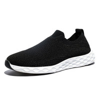 Men's shoes summer breathable net shoe cover foot casual shoes a footrest lazy shoes stretch socks shoes
