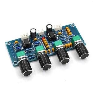 Image 5 - Para amplificadores digitais placa ne5532 tone board preamp pré amp com baixo agudos ajuste de volume pré amplificador tom controlador