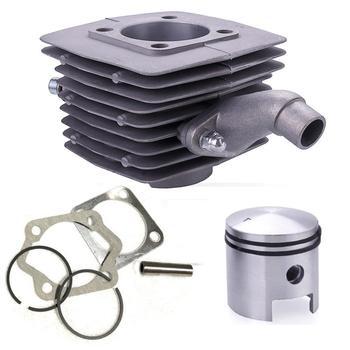 Gorąca sprzedaż 1 zestaw 80cc silnik silnika sworzeń tłokowy zestaw 40mm pasuje do silnika rower z napędem tanie i dobre opinie 0inch 4 5cm 10 5cm Alloy Silniki 0 78kg Cylinder 8 1cm 1 cylinder 303067