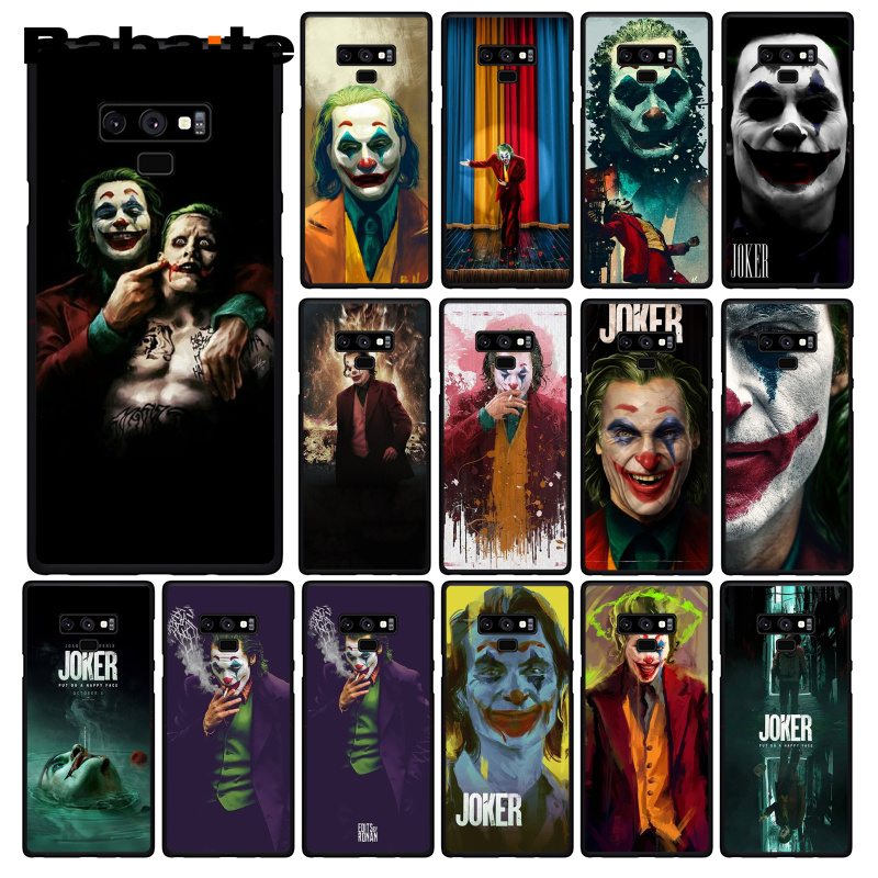 Babaite Joker 2019 Joaquin Phoenix Phone Case For Samsung Galaxy A50 Note9 8 7 5 10 Pro J5 J6 Prime J7 DUO image
