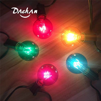 Patio Lights G40 Globe Party Christmas String Light Waterproof with multi colors For Decorative Outdoor Backyard Wedding Light