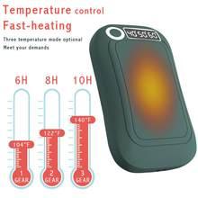 Mão mais quente bolso longa-vida 10000mah interior exterior pequeno aquecedor aquecedor fácil de transportar para android e tipo-c