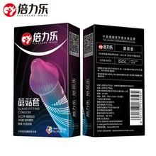 Презервативы для увеличения удовольствия с грибной головкой, презервативы с вращающимися частицами, безопасный секс-инструмент для взросл...