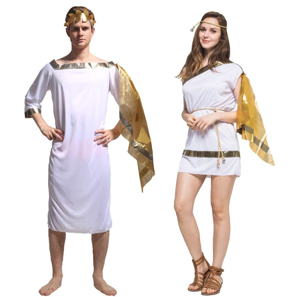 King Neptune Wig Adult God Halloween Costume Fancy Dress