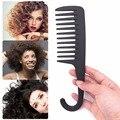 1 шт., широкая зубная Акула, Пластиковая расческа, расческа, расческа для вьющихся волос, парикмахерская расческа, массажный инструмент для у...
