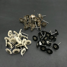 50pcs שיניים מעבדה יופי מברשת ליטוש גלגל מלטשים רוטרי כלים 2.35mm