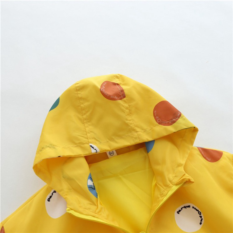 CROAL CHERIE Cute Dot Animal Fall Kids Boy Jacket For Girls Trech Coat Children Clothing Hooded Windbreaker Outerwear Clothes (4)