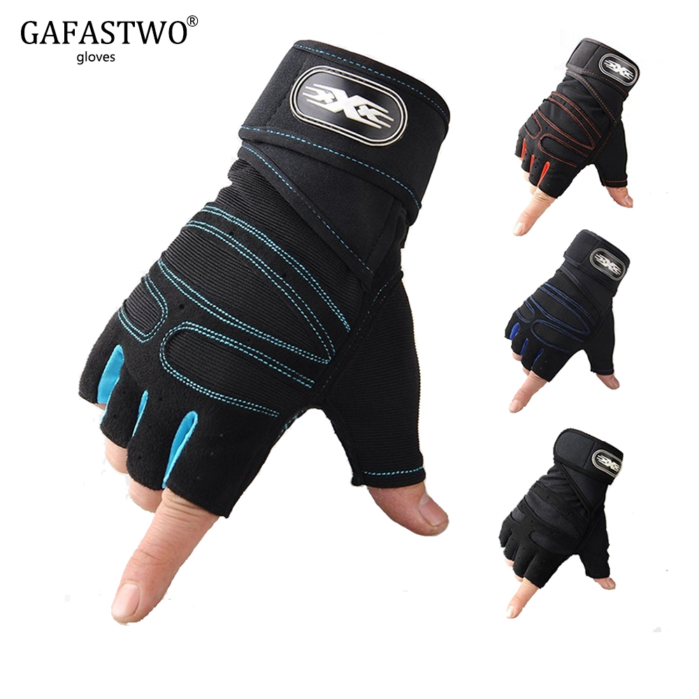 Mens Fitness Training Training Breathable Protective Gloves Womens Riding Slip Wearable Half Finger Bodybuilding Gloves
