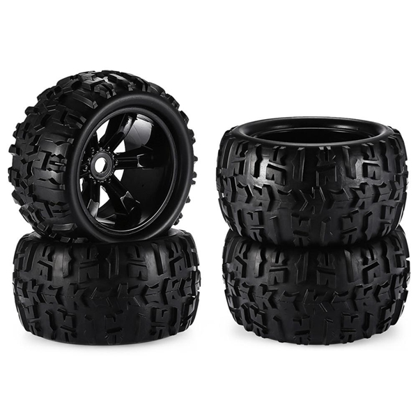 RC Car Off Road 1/8 For Monster Truck Bigfoot Tyre Tires 17mm Hex Wheel Toy Car Tire