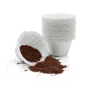 Reusable Refillable Holder K Cup Coffee Filter Cup Disposable Filter Cup Water Purifying Paper Capsule Environmental Easy Clean 1