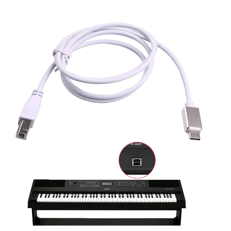 Type C Phone OTG Cable For LeTV For Huawei Connection To Printer Interface Line Microphone Piano Electronic Drum MIDI Keyboard