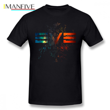 Eve Online T Shirt T-Shirt Print 6xl Tee Short-Sleeve Fun Streetwear 100 Cotton Mens Tshirt