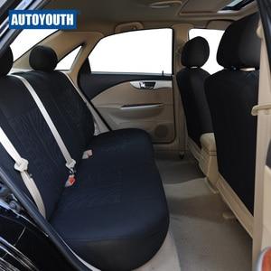 Image 4 - AUTOYOUTH ספורט רכב מושב מכסה אוניברסלי מושבי רכב רכב מושב מגן פנים אביזרי עבור טויוטה קורולה RAV4 שחור
