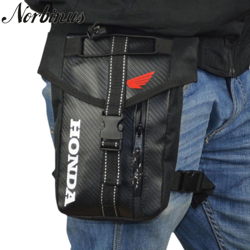 Men Oxford Waist Bag Motorcycle Rider Thigh Leg Bag Hip Bum Pouch Drop Belt Fanny Pack Purse Waterproof Crossbody Shoulder Bags