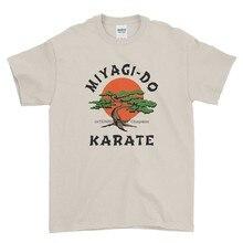 Mirage dojo karatê filme infantil engraçado arte marcial retro camiseta masculina