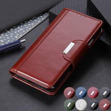 Realme Q Flip PU Leather Case on for Fundas Oppo Realme 2 3 3i 5 Pro case Coque