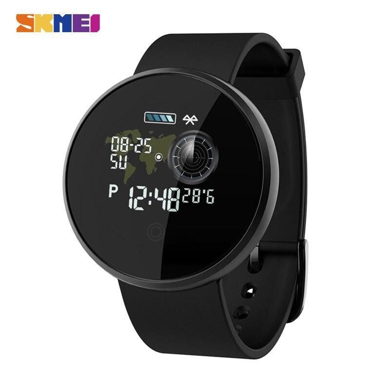 SKMEI Signore di Sport Mens Orologi Bluetooth Impermeabile Sonno Monitor Da Polso Per Huawei Xiaomi GPS Tracker fitness Reloj B36M