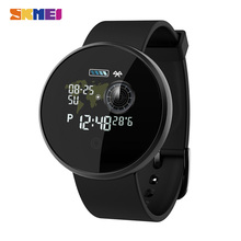 SKMEI inteligentne kobiety mężczyźni zegarki Bluetooth nocny monitor pracy serca Smartwatch lokalizator gps dla Huawei Xiaomi Reloj Inteligente B36M