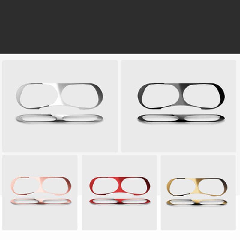 Metalen Dust Guard Voor Apple Airpods Pro Sticker Voor Air Pods Pro Case Cover Skin Stickers Protector Beschermende Film Accessoires