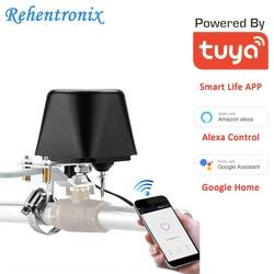 Tuya Amazon Alexa Google Assistent IFTTT Smart WiFi Steuer Gas Wasser Ventil Smart Leben WiFi Abschaltung Controller