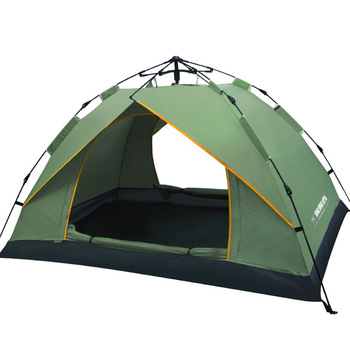 2 Person Waterproof Camping Hiking Tent Portable Anti-UV Tent Outdoor Automatic Tents Large Family Speed By Tent KEOGHS