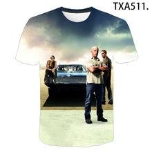 Summer Passion Movie Fast & Furious 3D T Shirts Casual Men Women Children Fashion Boy girl Kids Printed T-shirt Cool Tops Tee