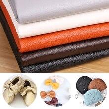 20% 2A15см личи узор искусственный синтетический полиуретан искусственный кожа простыня ткань для шитья поделки сумка обувь диван материал ручная работа ткань