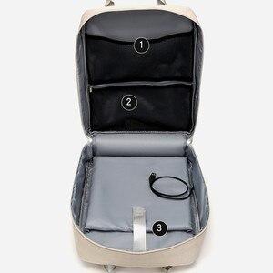 Image 5 - Phụ Nữ Nóng Bỏng Sạc USB Laptop Dành Cho Thiếu Niên Học Sinh Trường Nữ Sinh Ba Lô Túi Nữ Lưng Mochilas Du Lịch Bagpack