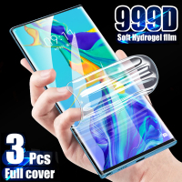 Pellicola salvaschermo Hydrogel 3 pezzi per Huawei P40 P20 P30 Lite Mate 30 20 10 40 Pro Honor 10i 9 Lite pellicola protettiva non in vetro