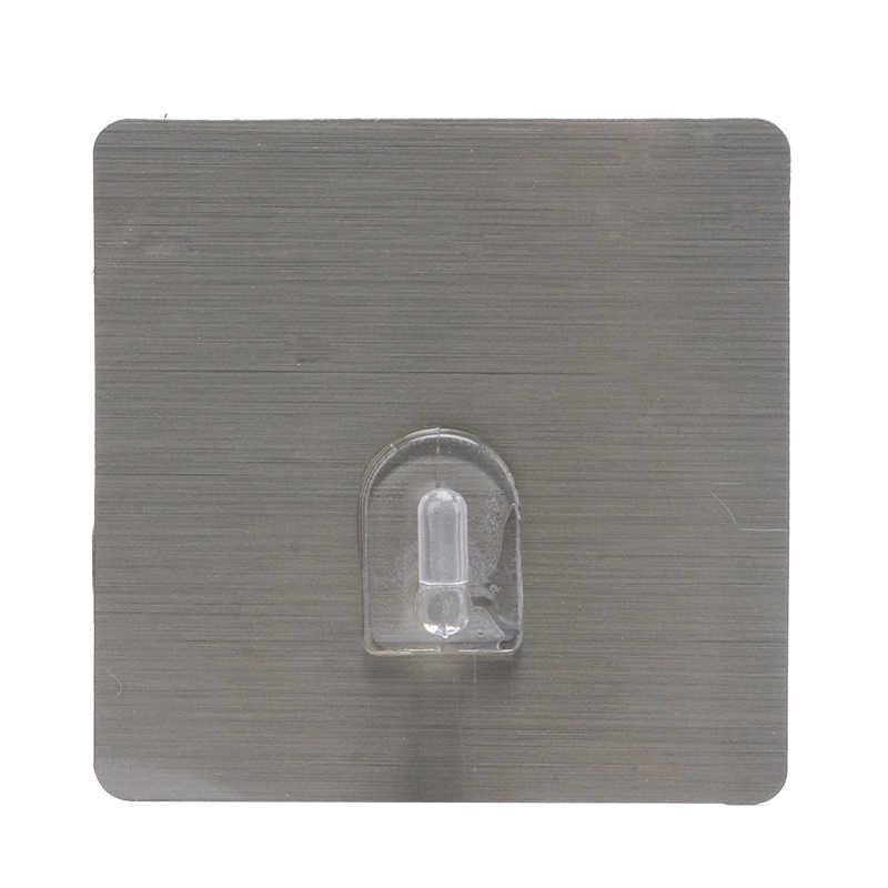 5 sztuk/vanzlife samoprzylepne przyssawki przezroczyste mocne haki do półka kuchenna wieszak ścienny na łazience przylepny hak ściany