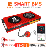 Daly Smart BMS 3S-24S Li-Ion LiFePo4 With  Free Bluetooth  module 4S 7S 8S 12S 13S 14S 15S 16S 17S 20S For Lithium Battery Pack