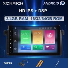 AutoRadioรถมัลติมีเดียPlayer 1 Din Android 10สำหรับBMW E46 M3 Rover 75 Coupe 318/320/325/330/335MGZT GPS Navigation Head Unit