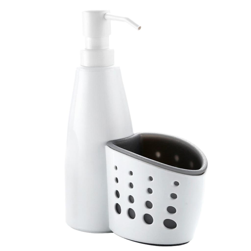 2 In 1 Kitchen Soap Dispenser Pump And Sponge Caddy Organizer Liquid Soap Dispenser Bottle Big Sale 54888 Cicig