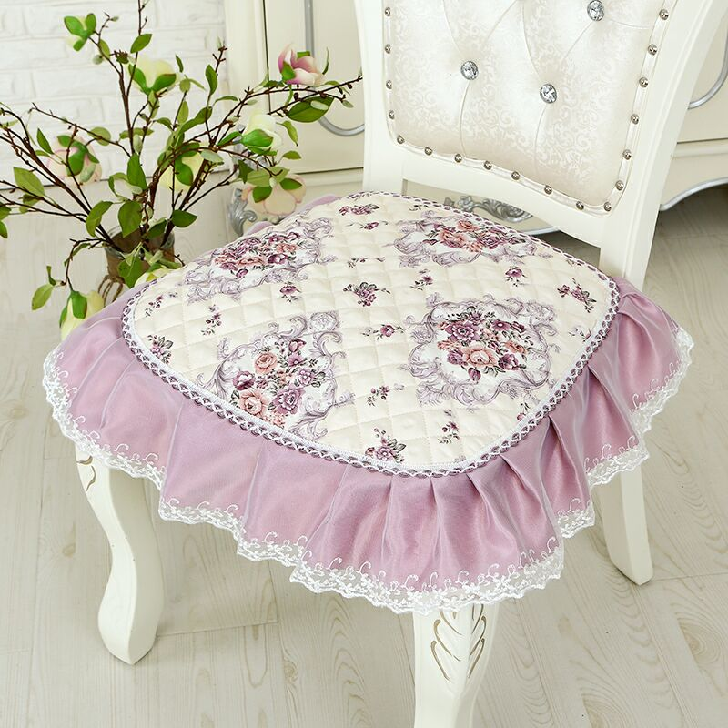 Europe Home Dinning Chair Cushion Anti-slip Three Styles Seat Pad With Bandage Office Cushion Four Seasons Soft Sit Mat 41*43cm