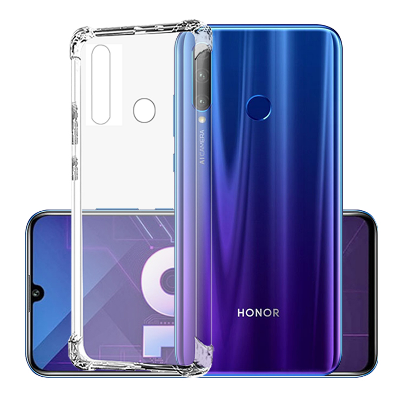 Obudowa tpu odporna na zarysowania dla Huawei Honor 10i przezroczysta silikonowa obudowa na Honer Honoe 10i HRY-LX1T 6.21